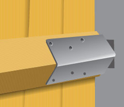 MARB  Mortice Arris Rail Bracket