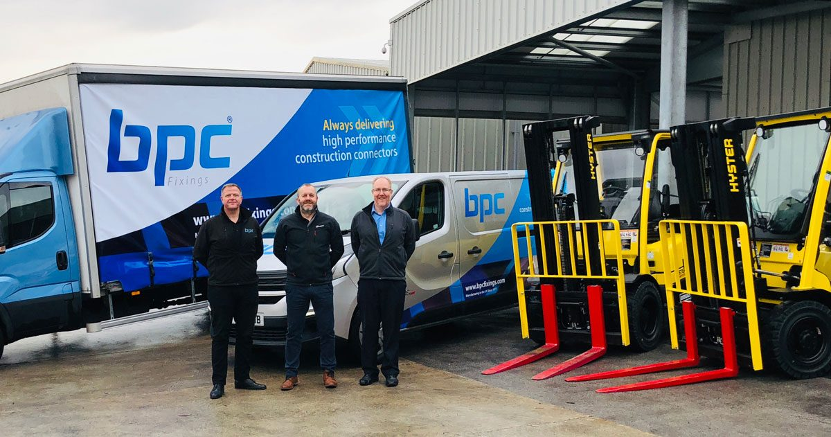 Investment in new vehicles boosts BPC Building Products warehouse and distribution capability.